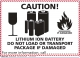 Lithium batteries guidance for 2015