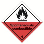 Class 4 (4.2) Spontaneously Combustible
