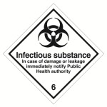Class 6 (6.2) Infectious substance