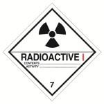 Клас 7 Радиоактивни вещества Категория I – бял