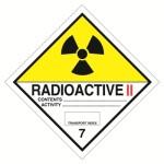 Клас 7 Радиоактивни вещества Категория II – жълт
